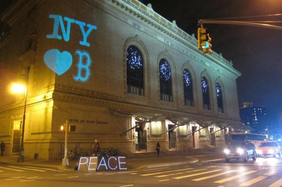 Be Patient, Be Still, Be Safe, Boston.  (Photo Credit:  The Illuminator)